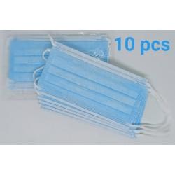 Masque 3 plis sachets de 10 unités